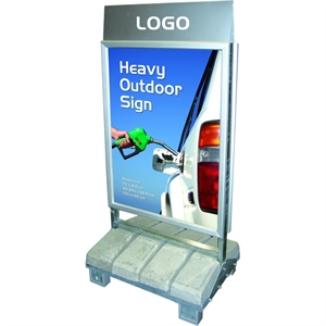 Logotop til Heavy Outdoor Sign Logotop: 103 x 23 cm