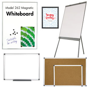 Whiteboards & opslagstavler