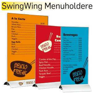 Menuholdere SwingWing