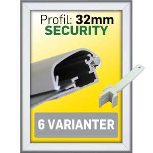 SECURITY rammer 32 mm Alu