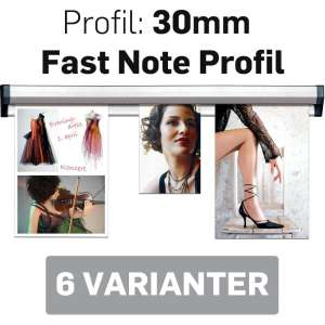 Fast Note Profile 30mm