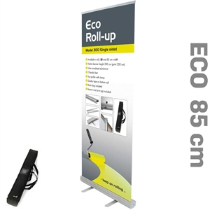 Billig og smart Roll-Up enkeltsidet 85 x 220 cm
