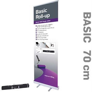 Billig og smart roll up Basic 70 x 220 cm