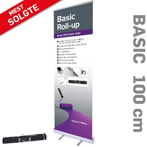 100 x 220 cm billig roll up Basic