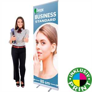 Billig Classic roll up med banner og print