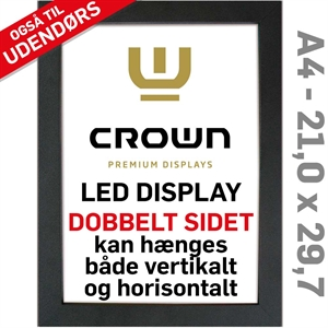CROWN LED Out box - Dobbeltsidet