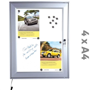 Billig LED Infobox 24W 4 x A4