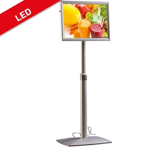 God og billig Infostand LED snapframe A4