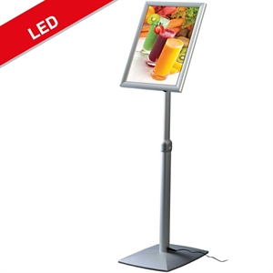 Billig og solid Info stand LED 13W A3