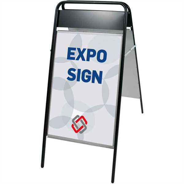 Expo-Sign med logoplade