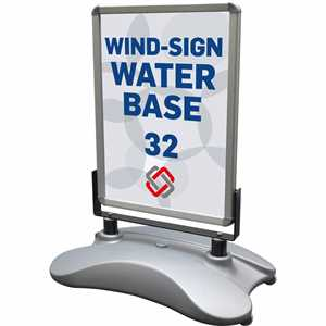 Wind-Sign Waterbase 32 Sandwichskilt 50 X 70 cm