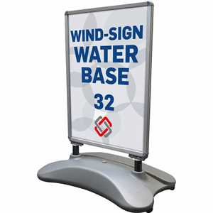 Wind-Sign Waterbase 32 Sandwichskilt 70 X 100 cm