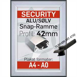Security snapramme 42 mm